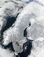NASA-Bild im Winter